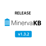 Minerva Knowledge Base version 1.3.2 released