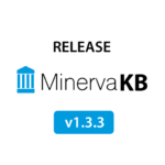 Minerva Knowledge Base version 1.3.3 released