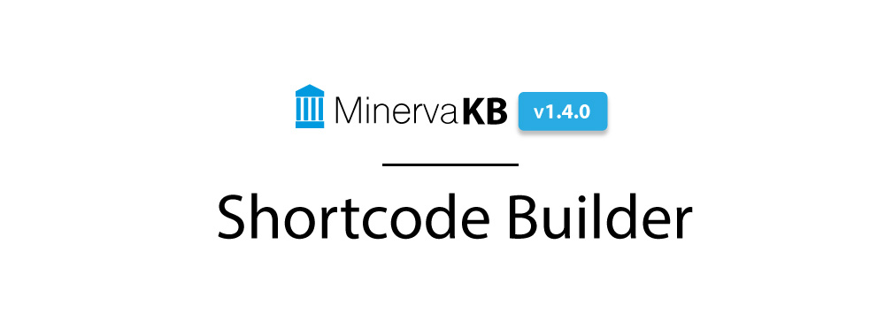 Introducing Shortcode Builder