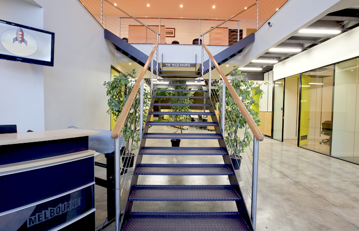 LaunchPad office entrance