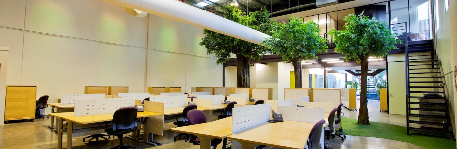 Inside the LaunchPad Coworking Space